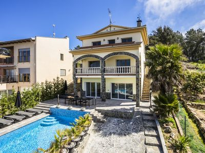 Photo for Casa Roca Grossa. Lloret there, Villa with pool and whirlpool