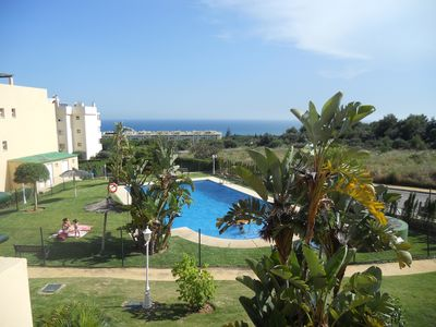 Photo for Duplex-Townhouse en Marbella - Sea view - walking distance to the beach