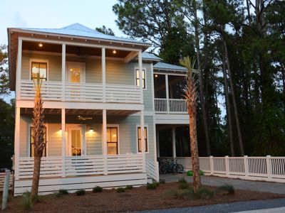Photo for 30A Beach House 2 Master Suites New Custom Home Close to Beach 5 Star Reviews!!