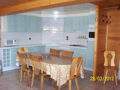 Photo for DIVIDING CHALET 3 STARS NEW STANDARDS IN GRAND BORNAND / CHINAILLON SUMMER / WINTER