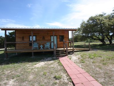 Photo for Walt's Cabin 2 Country property just past Luckenbach Texas