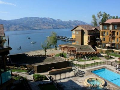 Photo for Barona Beach Lakefront Resort - Kelowna Bc, Canada