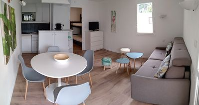 Photo for Studio cabin for 4 people, 100m from Benoît beach