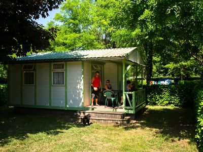 Photo for Camping Mijeannes *** - Chalet 3 Rooms 5 Persons