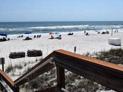 Photo for 2 bed 2 bath , Sleeps 6 Condo on the Gulf of Mexico