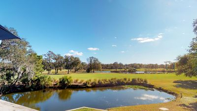 Photo for You have to see this view!  Spacious and private villa in Palmetto Dunes.