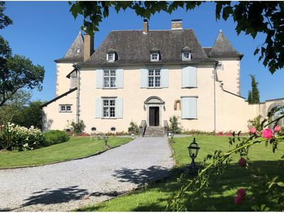 Photo for Château de Porthos, 5-star cottage between Béarn and Basque Country, 14 people
