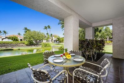 Spacious Lanai Includes Outside Dining