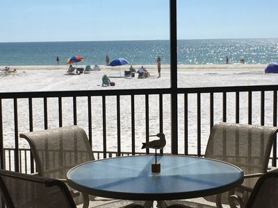 Photo for Condo on the Beach - Fort Myers Beach - Ocean Front - On the Sand - WIFI - Views