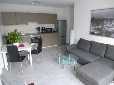 Photo for 3 room apartment - apartment, 56 sqm, up to 8 persons + living room couch