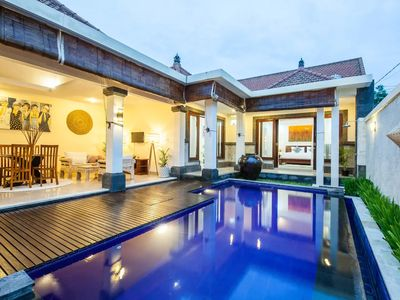 Photo for ARUMI AYU VILLA · ❤️❤️1BR Honeymoon Walk to Canggu Beach Bali