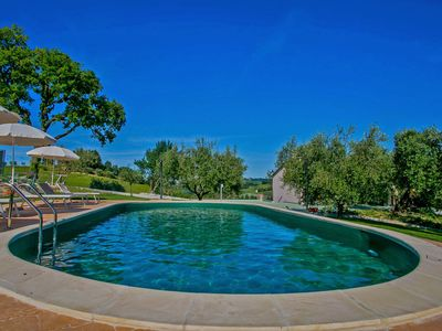 Photo for Private pool, beach 25Km, wi-fi, air conditioning, pet-friendly-VILLA ROSA