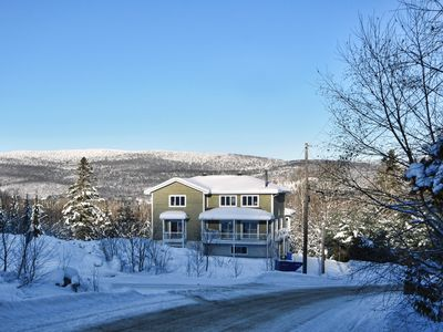 Photo for Le Familial with SPA/POOL TABLE / Located on Ski Hill / Mont La Réserve