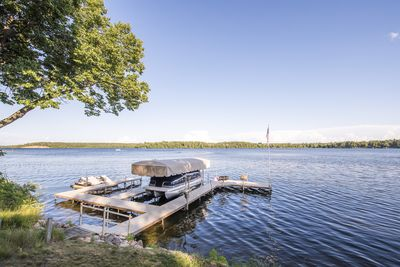 Front dock - with open slip for boat