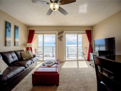 Photo for 24- Recharge your happiness in this Beautiful BEACH FRONT Condo! Coral Reef Club