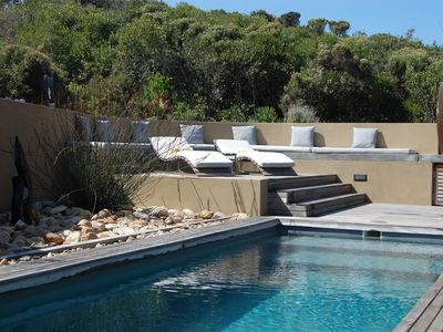 Photo for Five Star* Villa With Private Heated Pool And Sea Views