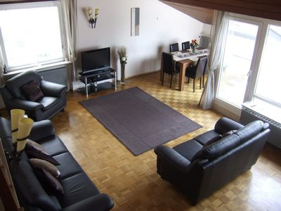 Photo for Luxurious Black Forest Holiday Apartment with balcony 5 minutes walk from spa