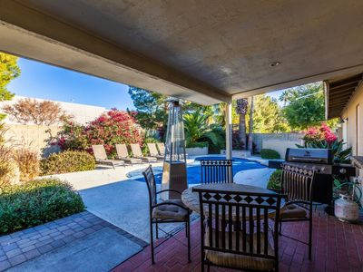 Photo for Laurel Sleep 22 Scottsdale Estate ❤️ Heated Pool-Spa-Fire-Putting-Near Events-Best Golf-Dining-Shop