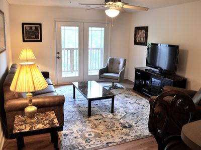 Photo for Newly Listed! Lakefront 4 Bedroom 4 Bath Condo 1.5 Miles from Clemson Stadium