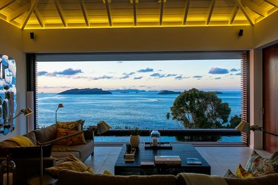 Spend the 2 of you a very romantic stay at villa BelAmour in St Barts