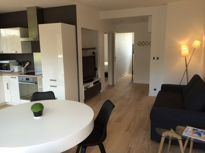 Photo for CONTEMPORARY APARTMENT 2 CH (4 people) 50M2 - Completely renovated - Seaview
