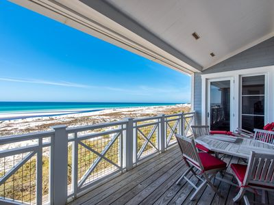 Photo for Gulf Views! Community Pool! Steps Away From The Beach!
