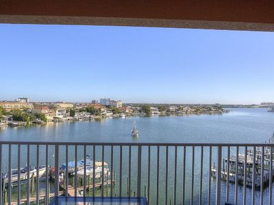 Photo for Waterfront Balcony View Luxury. SEE THE DOLPHINS.