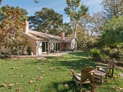 Photo for Private 3BR on Leafy 2-Acre Plot - Walk to Beach, Near Hiking & Bike Trails