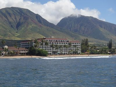 Ocean view of Lahaina Shores