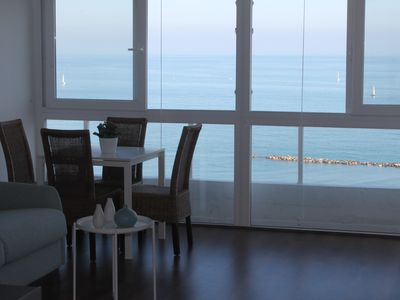 Photo for Studio-apartment with Pool, WiFi and Sea views - 104304