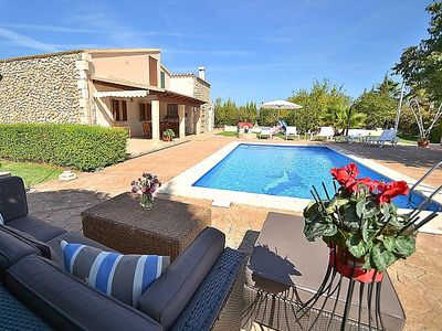 Photo for 4 bedroom Villa, sleeps 6 in Búger with Pool, Air Con and WiFi