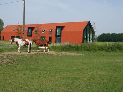 Photo for Spacious Holiday Home with Terrace in Zwevegem Belgium
