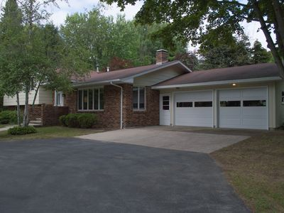 Photo for Leelanau County Home!  20+ acres (some w Lake view)Fenced yard -- Pet Friendly!