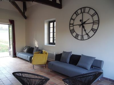 Photo for Périgourdine house with heated pool for 12 people 5 km from Sarlat