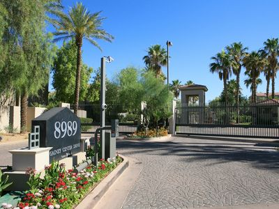 Photo for Gainey Ranch Scottsdale Lakeside Condo - Waterfront, Golf Course, Mountain Views