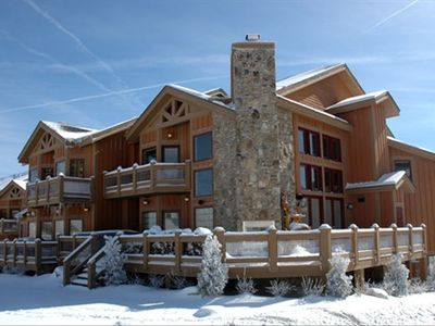 Photo for 7 Springs - Luxury Southwind Ski-in Ski-Out Mountaintop Townhouse