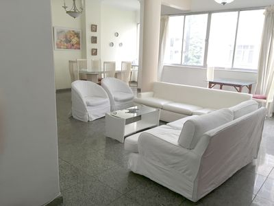 Photo for Large four bedroom next to the subway in Copacabana near Ipanema and Lagoa