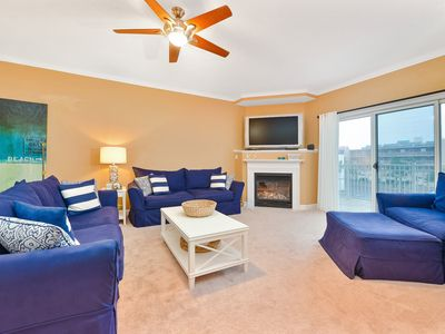 Photo for Ocean View Sanctuary in North OC! 1/2 block to Beach, 3 BD, HBO, Showtime, Pool!