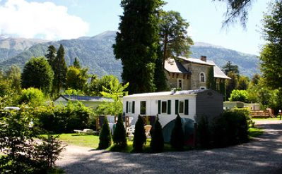 Photo for Camping Château de Rochetaillée ***** - Premium Cottage 3 Rooms 4/6 People