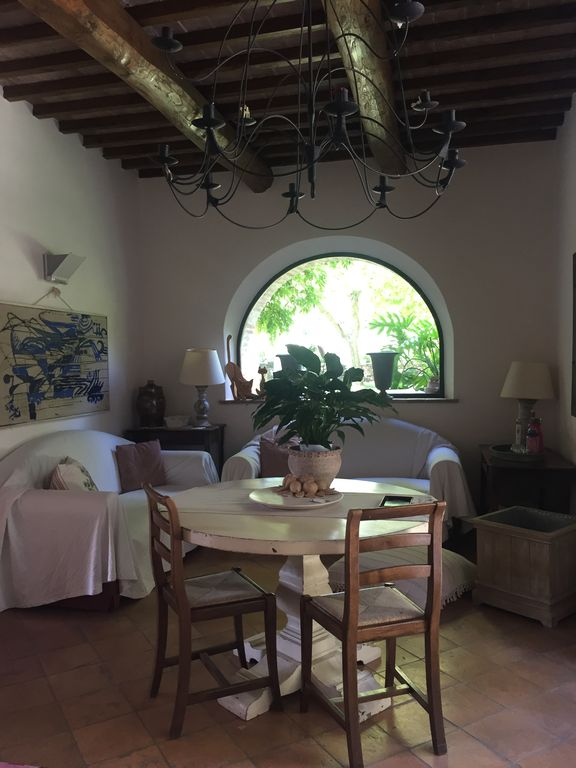 Property Image12 TOP Old Tuscan Farmhouse In Stone With Olive Gardens Pool Air Conditioner