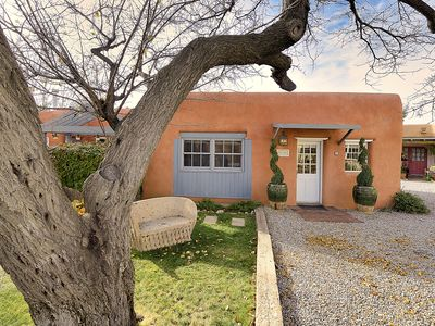 Photo for Elegant, richly decorated one bedroom casita in gated community - walk to town