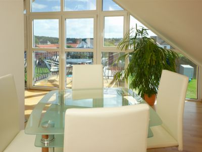 Photo for Apartment exclusively furnished with 2 bedrooms in the Baltic Sea resort Koserow