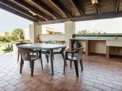 Photo for Sea view villa w/ garden, terraces & BBQ - beaches in every direction!