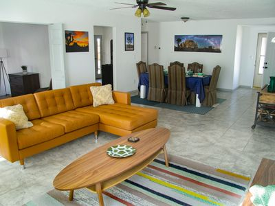 Photo for Spacious Joshua Tree 3 bedroom 2bath home perfect for families and pets.