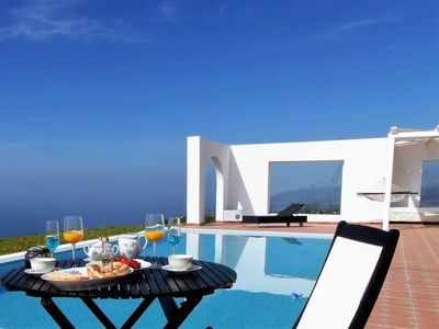Photo for Eagle's Nest- Finca Cerro del Pozo: spectacular views of the sea