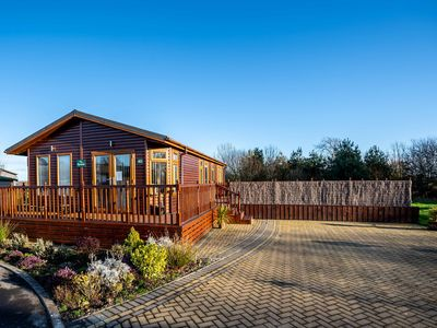 Photo for The Ryedale - luxury lodge with hot tub