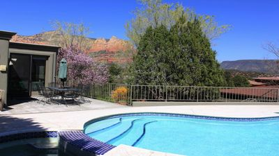 Sedona Paradise, a beautiful home with pool and spa in heart of Sedona
