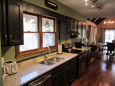Newly renovated kitchen with NEW stainless appliances!