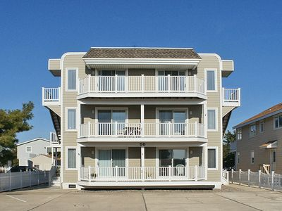Photo for Beautiful condo just steps from the 32nd Street beach path!