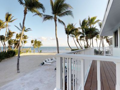 Photo for Dog-friendly, waterfront home w/ a private pool, hot tub & private beach